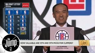 What should Clippers do with 12th and 13th picks in 2018 NBA draft? | The Jump | ESPN