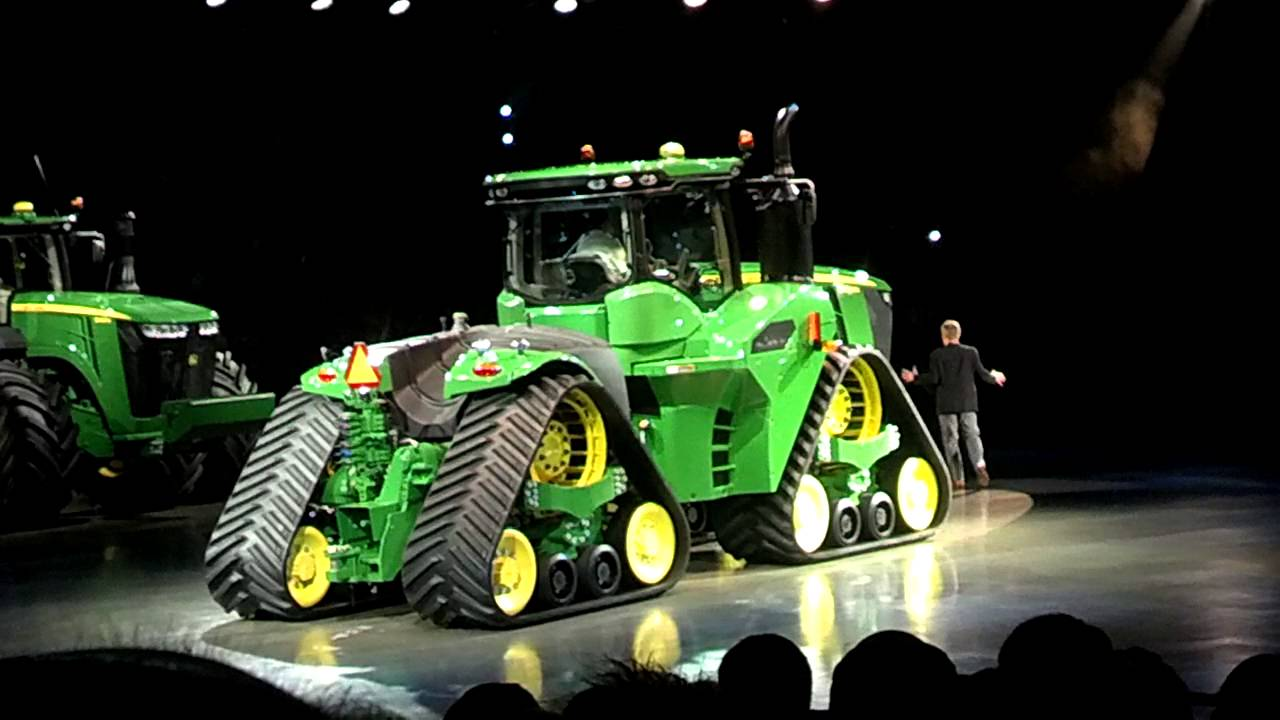 Girl Tractor Wallpaper New John Deere 9rx Youtube