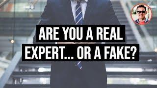 Real Experts vs Fake Experts