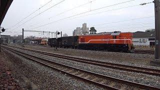 7202次貨物列車通過斗南車站