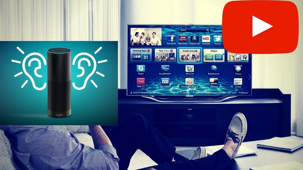 Control Smart Tv With Amazon Alexa - Free - YouTube