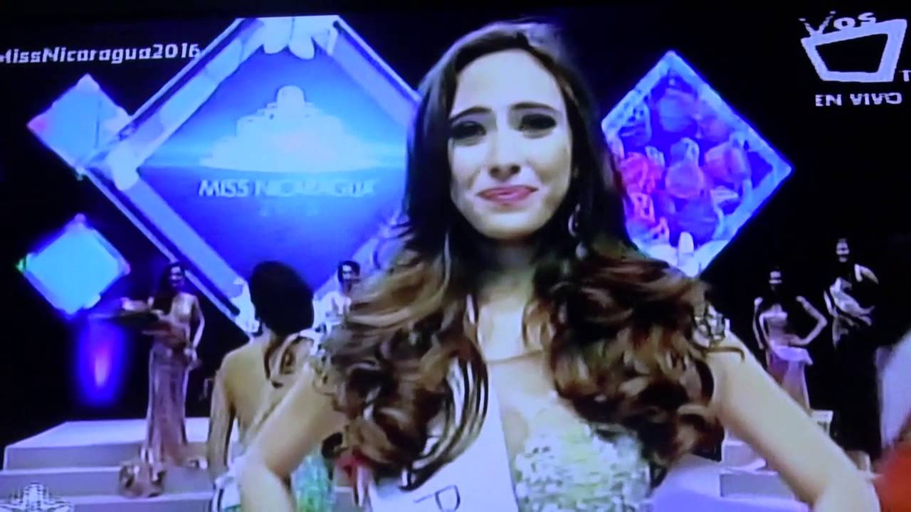 Marina Jacoby Wins Miss Nicaragua 2016: Marina Jacoby Es Miss Nicaragua 2016