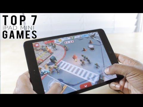 best games for free on ipad mini