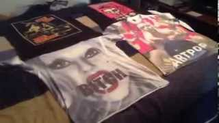 Lady Gaga Collection Update - T-Shirts; ARTPOP T- shirt, Born This Way, and Ride Ride Pony