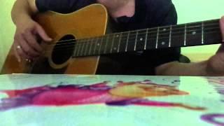 khong con mua thu guitar cover