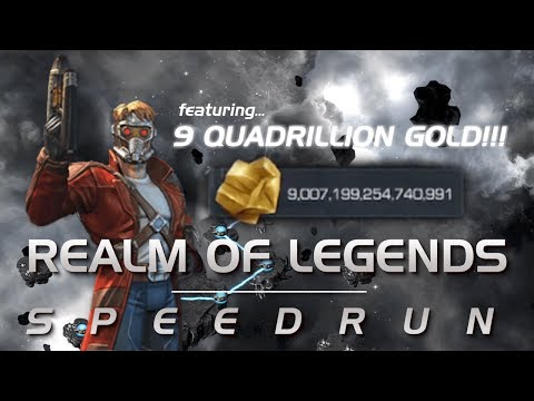 The Quadrillionaire Run: Realm of Legends Speedrun   Marvel Contest of Champions