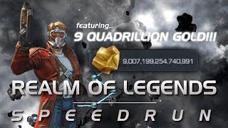The Quadrillionaire Run: Realm of Legends Speedrun | Marvel Contest of Champions
