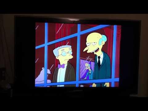 Mr. Burns talking about Rupert Murdoch