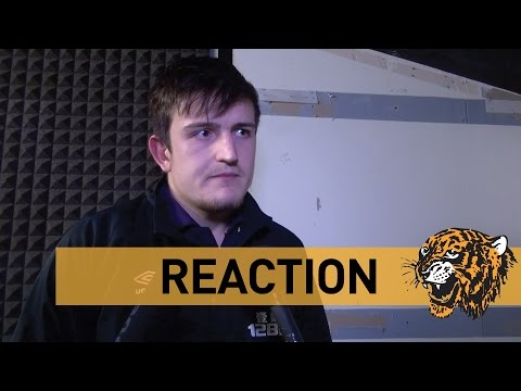 Arsenal v The Tigers | Reaction With Harry Maguire