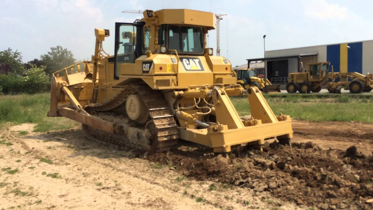 Cat d7r serie 2 2008 ripping soil for sale at www for Soil for sale