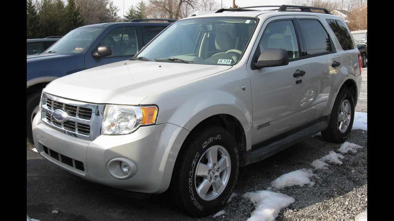2008 ford escape xlt awd start up and tour