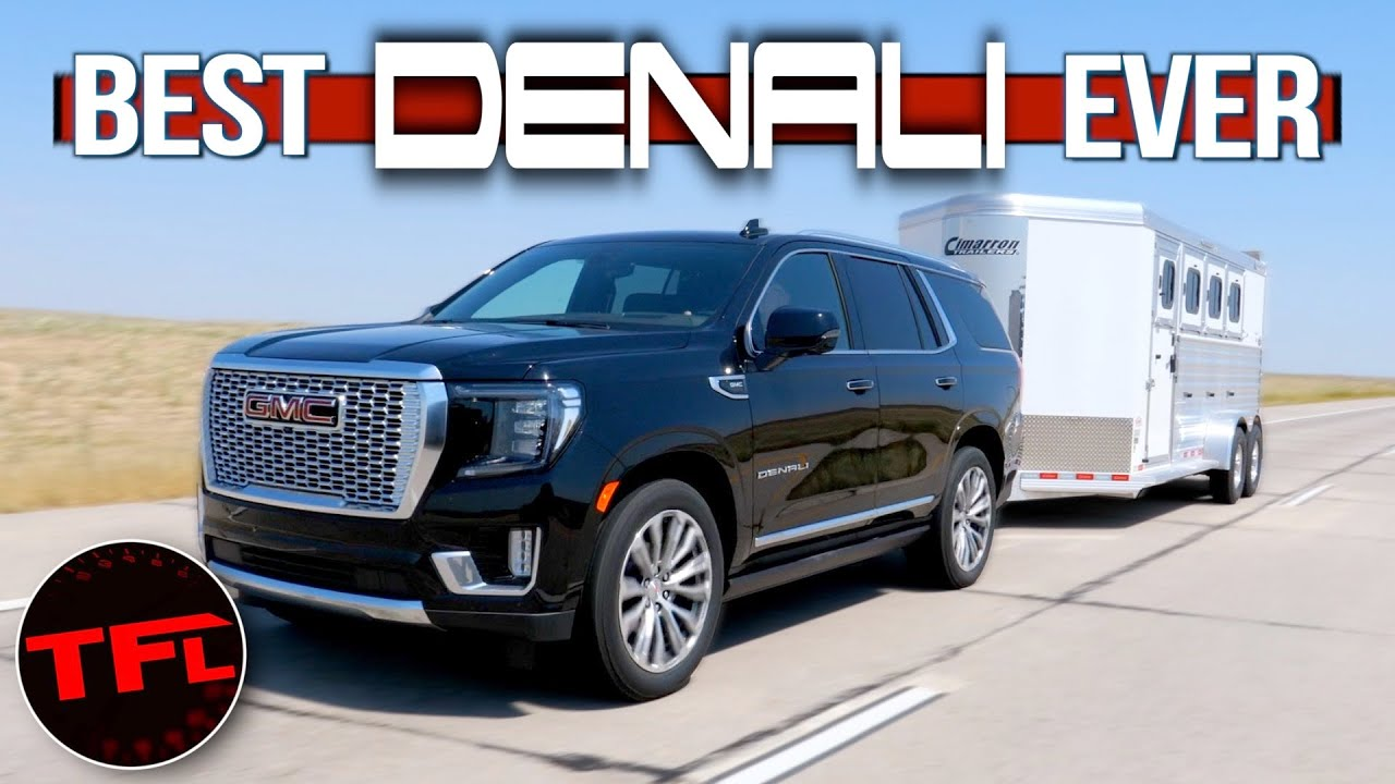Can the New 2021 GMC Yukon Denali Still Tow Like a Truck? We Put It on a Towing MPG Loop to Find Out