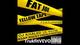 Fat Joe - Yellow Tape ft. Lil Wayne, A$AP Rocky & French Montana [OFFICIAL INSTRUMENT WITH HOOK]