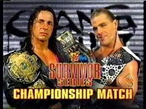 Shawn Michaels vs Bret Hart: WWF Championship (Survivor Series '97: WWE2k19  Gameplay) - YouTube