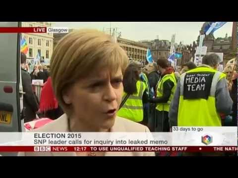 BBC's James Cook Condemns Cybernats' 'Vicious Abuse' After Nicola Sturgeon Interview