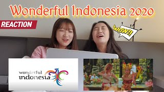 [ENG,INDO]Koreans Reaction to WONDERFUL INDONESIA 2020