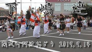 開成町阿波おどり 下嶋連-2019.9.14