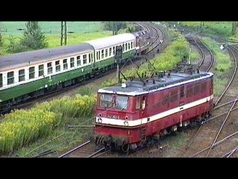 Deutsche Reichsbahn 1991 - Loks und Züge - Momentaufnahmen in Chemnitz Hilbersdorf