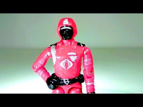 1985 Crimson Guard (Cobra Elite Trooper) G.I. Joe review