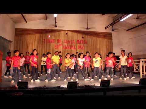 Santa Maria School, Trichy, Tamil Nadu, India, Annual Day 2014-15 Celebrations
