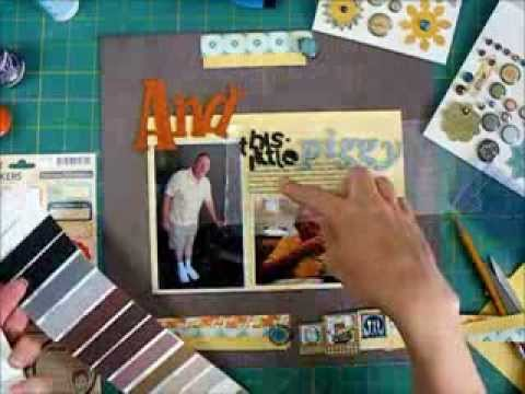 Scrapbook Process - Making Embellishments From ClipArt