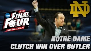 Notre Dame Shows True Grit in NCAA OT Win Over Butler | ACC Road to Indy