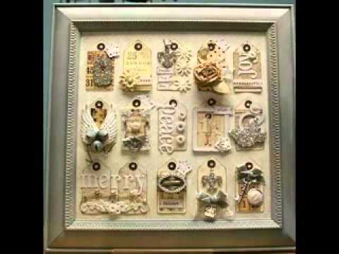 Shabby chic crafts ideas - YouTube