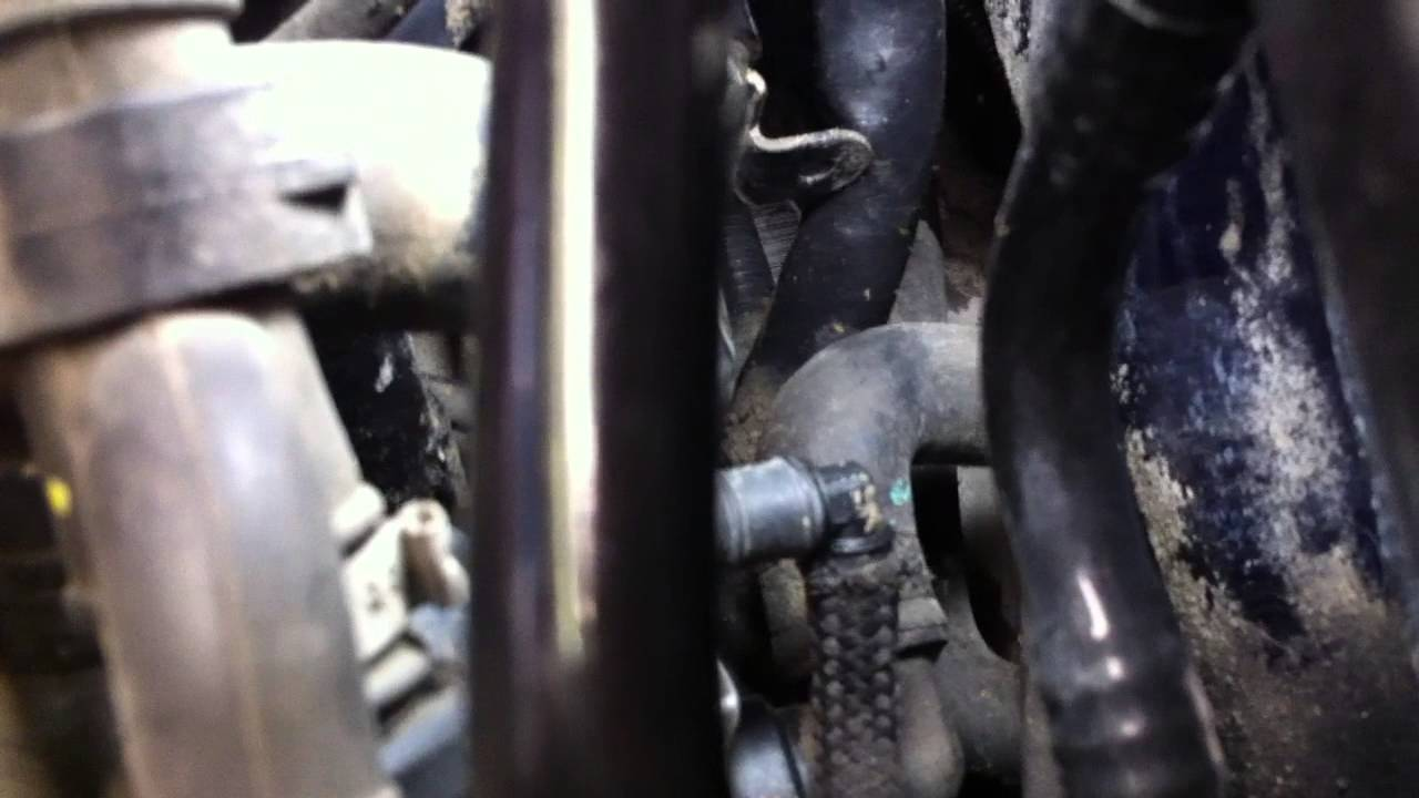 medium resolution of 2003 vw passat 1 8l turbo coolant flange replacement coolant leak at rear of head pressure test youtube