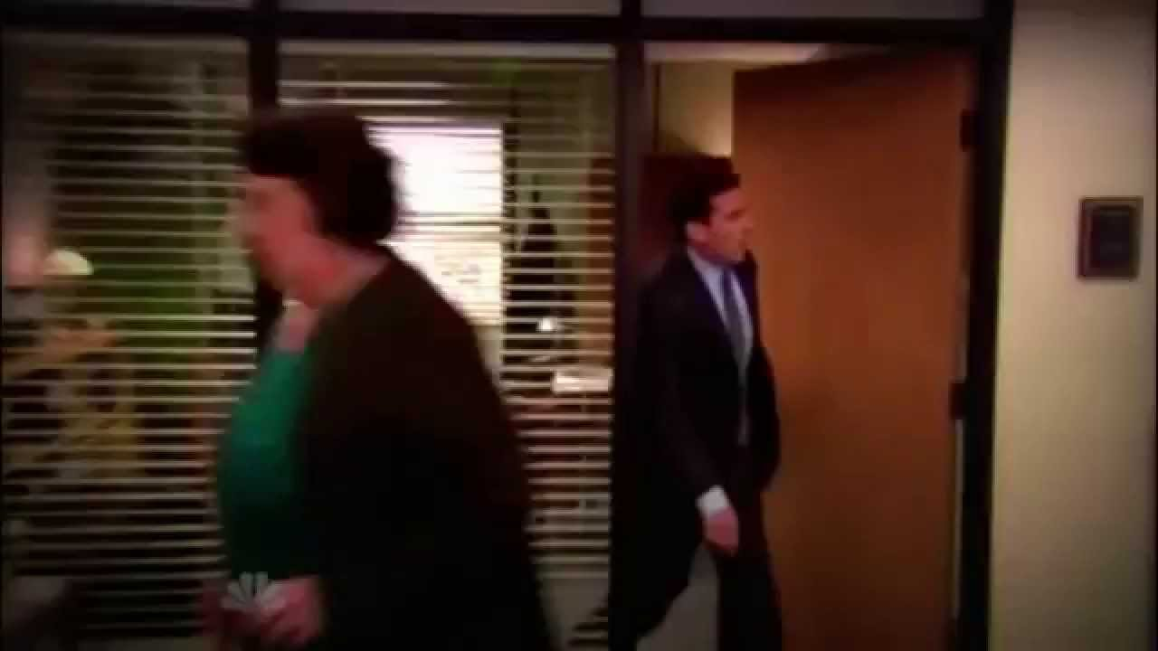 The Office Fire Drill Michael Scott Oh My God Youtube