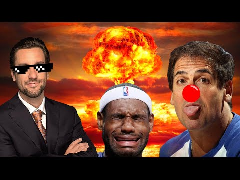 [Sports Wars] Mark Cuban DESTROYED By Clay Travis Over Woke NBA Ratings Collapse