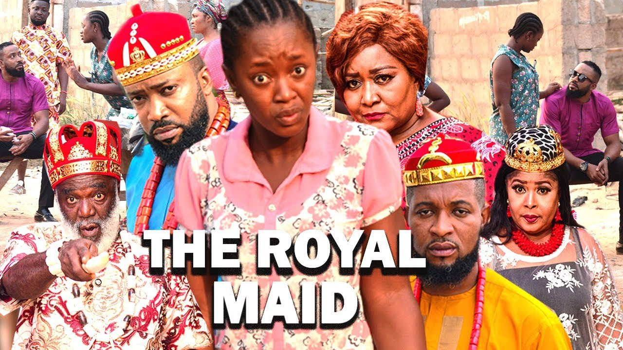 Download THE ROYAL MAID (FREDRICK LEONARD NEW MOVIE) LUCHI DONALD - 2021 LATEST NIGERIAN MOVIE / NOLLYWOOD