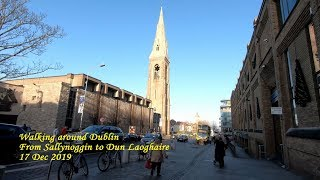 Дублин. Walking around Dublin. From Sallynoggin to Dun Laoghaire. ORANGE ua