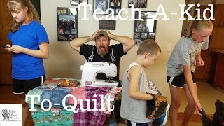Teach-A-Kid-To-Quilt Starter Kit