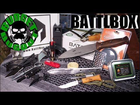 7 Knives & Survival Kit Gear - Self Reliance & Self Defense | 2 BattlBox Unboxings