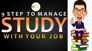 Manage Study With Job - 9 Tips | Quit Job for Study? | Mentors 36