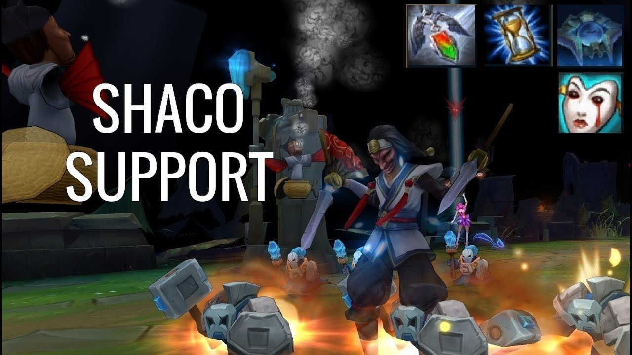 Shaco Build S7: THE REAL TROLL SUPPORT!