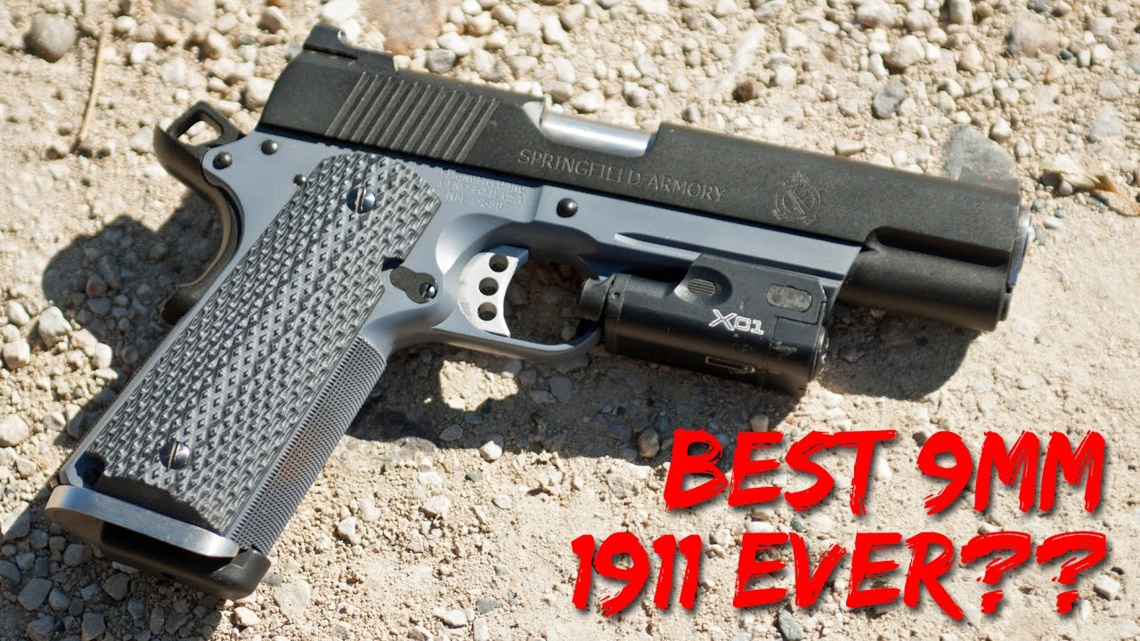 Springfield Armory Combat Operator 1911 9mm Full Review