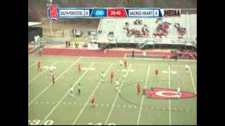 1st goal of the 2014 Miss. 1A/2A/3A Girl's Soccer State Championship Game