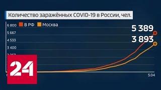 Коронавирус: новые данные по России - Россия 24
