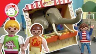 Playmobil Film deutsch - Ein Elefant im Kiosk - Geschichte mit dem Zoo für Kinder von Familie Hauser