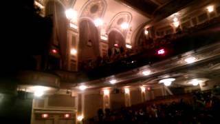 Зал бродвея мюзикла Призрак Оперы