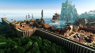 minecraft builds awesome cool creations build most building wallpapers pc game 3d shaders stunning computer fun ever