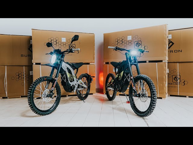 Unboxing Surron LightBee 2020