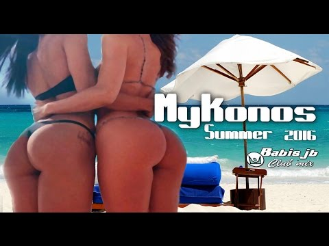 Mykonos summer Bech Party 2016 Babis jb Live Club mix. Day & Night  is party time