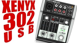 Behringer Xenyx 302 USB Audio Interface Review