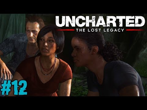 UNCHARTED THE LOST LEGACY : Lets Play #12 [FACECAM] - WAS HAT ASAF VOR ??