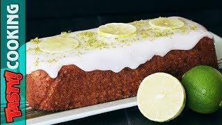 Lime Ginger Loaf Cake Recipe 🍰 Tasty Cooking
