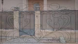 Художественый металл,кованый забор.кованые ворота(Художественый металл, авторские эскизы. Кованые изделия на заказ.кованый забор, ворота и калитка., 2016-06-21T04:00:59.000Z)