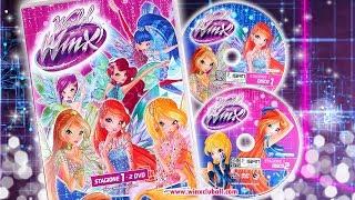 World of Winx Season 1 DVD REVIEW [Italian Version]