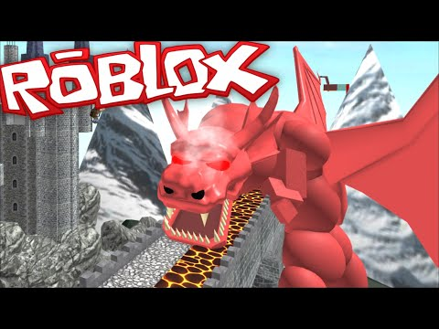 ESCAPE THE DRAGON LAIR OBBY / DON'T GET BURNT BY THE BREATH OF THE DRAGON !! Roblox